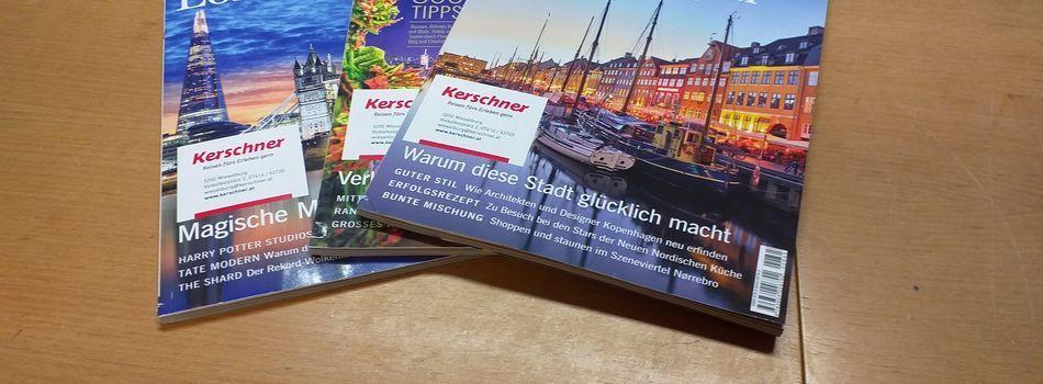 <div class=slidertitel>Neue Zeitschriften </div><div class=slidertext>Wir danken Firma Kerschner <br/>für das Abo der Zeitschrift 》Merian《! </div>