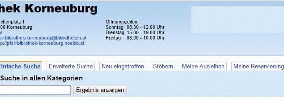 <div class=slidertitel>Online Stöbern und Schmökern!</div><div class=slidertext>im Webopac der Pfarrbibliothek</div>