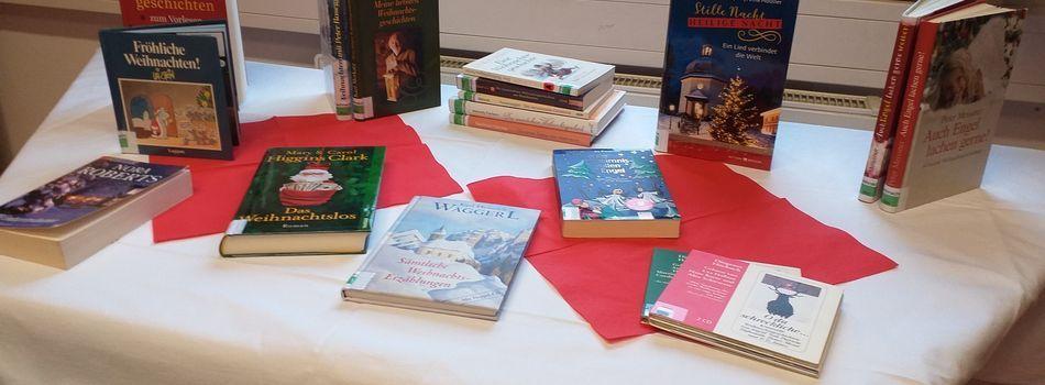 <div class=slidertitel>Lektüre für die Vorweihnachtszeit </div><div class=slidertext>Weihnachtsbücher für Kinder und Erwachsene </div>