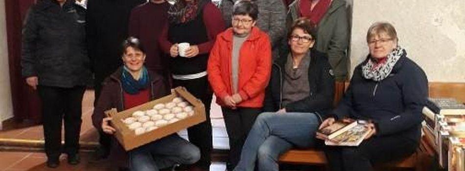 Am Faschingssonntag verteilten wir wieder gratis Krapfen an alle Kirchenbesucher.  Mit den großzügigen Spenden werden wieder neue Bücher, DVD´s und Spiele für den Verleih angekauft. Hier ein herzliches Danke an Haubis Brot und Gebäck , Schlosscafé Neubacher und an die Konditorei Reschinsky für ihre Unterstützung .
