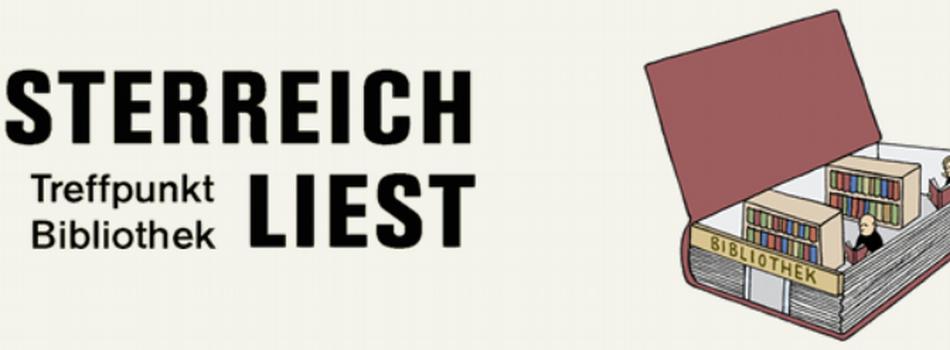 <div class=slidertitel>Österreich liest. Treffpunkt Bibliothek</div><div class=slidertext>vom 18. bis 24. Oktober 2021</div>
