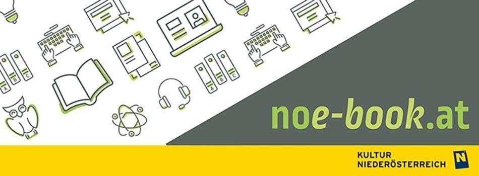 <div class=slidertitel>noe-book.at</div><div class=slidertext>Die niederösterreichische Onlinebibliothek - eBooks, eAudios, eMagazine, ePaper und eLearning-Kurse.<br/>Melden Sie sich jetzt per eMail an!</div>