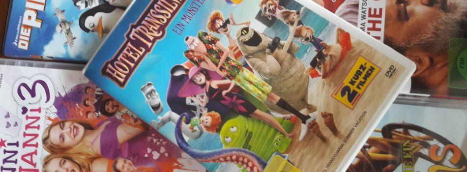 <div class=slidertitel>Neue DVDs für Groß und Klein</div><div class=slidertext>Filmspaß für die ganze Familie</div>